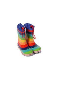 Rainbow Wellies. Ok, not heels, I know, but I love 'em.