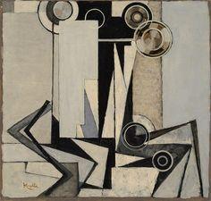 Collection Online | František Kupka. Peninsule. ca. 1930 - Guggenheim Museum