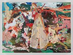 Cecily Brown Has a New Show and Book, The English Garden