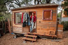 Inside Storey: Matthew Wolpe: Tiny House https://www.facebook.com/justenoughmontereycounty