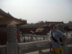 Samantha at the Forbidden City in Beijing, China