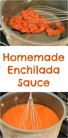 Homemade enchilada sauce is easy to prepare and allows you to control your heat. in only 10 minutes! | #enchiladasauce | www.savoryexperiments.com