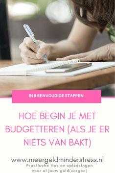 Budgetteren voor beginners