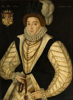 """Elizabeth (Bess), Countess of Shrewsbury (c.1525–1608); she and her fourth husband, George Talbot, """"hosted"""" Mary, Queen of Scots for many years of her captivity in England. Bess was also grandmother to Arbella Stuart, whom many considered heiress to Elizabeth I through their common ancestor, Henry VII"""