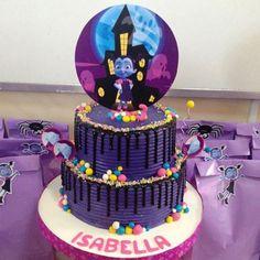 tematica vampirina cake pasteles tortas