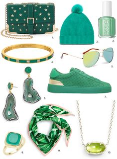Shop Pantone Color of the Year Greenery Under $50