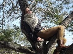 Katniss Inspired Hunting Cowl multiple colors by CarinsCrafts, $65.00