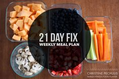 21 Day Fix Meal Plan!  Family. Fitness. Food. Flavor. : Weekly Meal Plan: 4/20/15 - 4/26/15