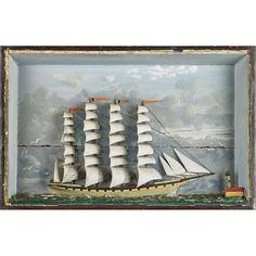 NAUTICAL DIORAMAS - Price Estimate: $600 - $800