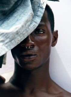 Preview: Adonis Bosso by Dana Scruggs for SCRUGGS Magazine (first issue)