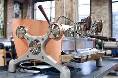 Slayer espresso machine... My partners dream coffee machine!! Keep on dreaming ;)