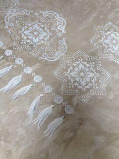Detail decorated floor