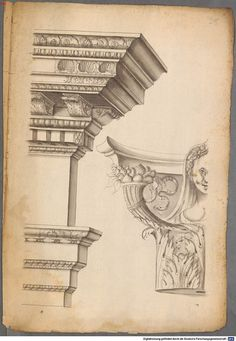 209 e: Scan Drawing Quotes, Architecture Drawings, Corinthian, Classic, Painting, Investigations, Collage, Base, Kitchen