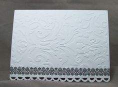 Ten Embossed Brocade  Black and White by CarolinaDivineDesign, $9.00