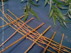 How to Make Miniature Wattle Fencing for your Fairy Garden