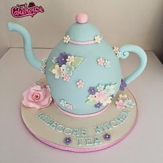 Kitchen Tea Teapot Cake Nancy's CAKEHOUSE!