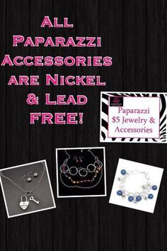 #Paparazzzi is #nickel free! And only $5.  www.facebook.com/bedazzledbyruby.com www.paparazziaccessories.com/21056 www.twitter.com/bedazzledbyruby www.bedazzledbyruby@gmail.com