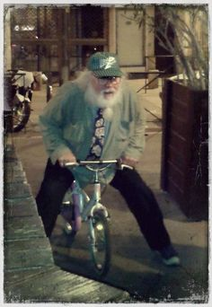 R Stevie Moore - After show @ L'ubu perpignan on 2013-04-20