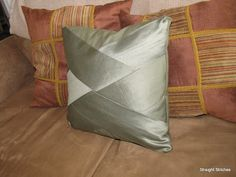 Remodelaholic | Braided Pillow Tutorial