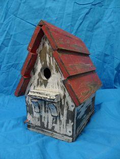 Antique Birdhouse Victorian Birdhouse Vintage by LynxCreekDesigns, $45.00