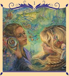 """1 Listen with your Heart 1"" Oracle Cards Whispers of Love par Josephine Wall and Angela Hartfield"