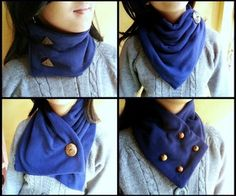 Sew Neck Warmers (Button Tricks!) | Instructables