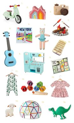 The Ultimate Kiddo Gift Guide! (A Beautiful Mess) Cool Gifts For Kids, Gifts For Boss, Gifts For Coworkers, Holiday Gift Guide, Holiday Fun, Holiday Gifts, Christmas Gifts, Christmas Ideas, Xmas