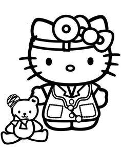 Hello Kitty Kleurplaten A4.85 Best Hello Kitty Images In 2019 Baby Dolls Bonjour Cat
