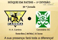 Hóquei em Patins: HA Cambra vs Candelária SC > 30 Mai 2014, 21h00 @ Pavilhão Municipal, Vale de Cambra  #ValeDeCambra #hoqueipatins
