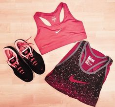 New Sport Outfit Pink Workout Gear 65 Ideas Nike Outfits, Sport Outfits, Cheer Outfits, Sport Fashion, Look Fashion, Fitness Fashion, Nike Fashion, Womens Fashion, Workout Attire