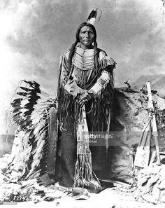 Chief Crazy Horse, Oglala Sioux, b. Sept age at Fort Robinson of a Bayonet wound (TASHUNCA) Oglala Lakota Sioux Native American Beauty, Native American Photos, Native American Tribes, Native American History, American Indians, American War, American Legend, American Symbols, American Women