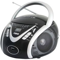 Naxa Portable Cd And Mp3 Player With Am And Fm Radio - MNM Gifts
