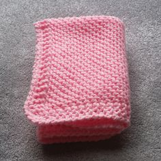 Ravelry: Preemie Pink Blanket pattern by Esther Kate - Knitting Ideas Baby Cardigan Knitting Pattern Free, Crochet Baby Jacket, Free Baby Blanket Patterns, Baby Hats Knitting, Baby Knitting Patterns, Afghan Patterns, Knitting Ideas, Crocheting Patterns, Baby Patterns
