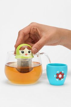 Teabushka Loose Tea Strainer.  I thought this was something you needed so I got it for you.