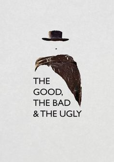 The good the bad and the ugly film print poster.  Clint Eastwood. Western