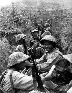 Vietminh at Dien Bien Phu, pin by Paolo Marzioli