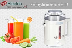 Now making fresh juice is perfectly easy with Philips New Range of Juicer!!!
