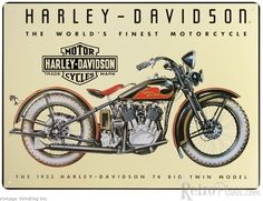 American Icons: Harley-Davidson® Motorcycles