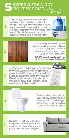 5 Tidy Holiday Home Secrets