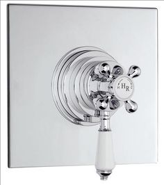 Hudson Reed C P TRADITIONAL DUAL CONCEALED THERMOSTATIC SHOWER VALVE Finish Chrome