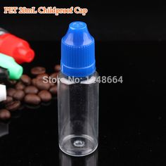 Small plastic containers wholesale 30400pcs/lot  20ML empty plastic containers,20ml child proof eye drop bottle for e hookah