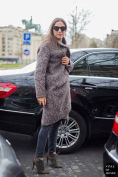 Capucine Safyurtlu in Paris ... gosh, I love her shoes!