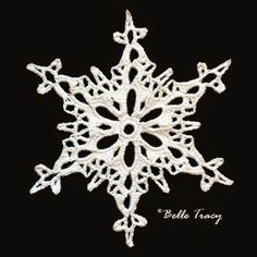 365 Crochet Snowflakes By Belle Tracy                                                                                                                                                     More