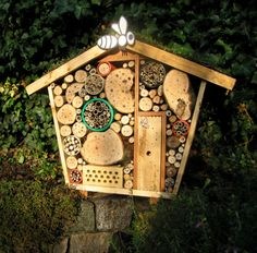 bug house I have a bee house similar to this. Come on summer