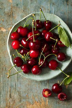 Saftige Kirschen ♥ stylefruits Inspiration ♥ #cherries #Sommer #Obst