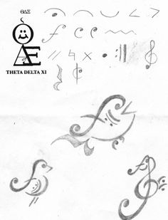 Musical Tattoos by ~Shadows-Illusion on deviantART  The fish is my favorite!