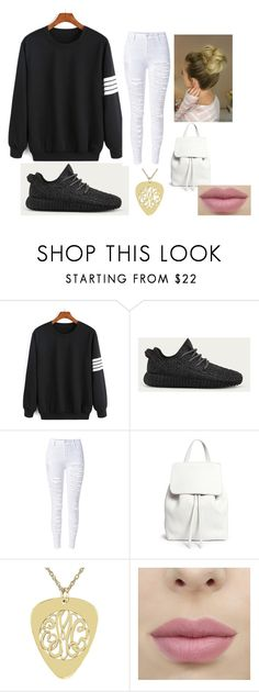"""""""Comfy Clothes"""" by tahirah-miah on Polyvore featuring adidas and Mansur Gavriel"""