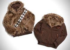 Cazadora de Chewbacca!!! La quiero!!!!