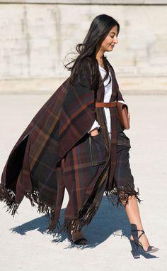 Nausheen Shah from Street Style at Paris Fashion Week Spring 2016