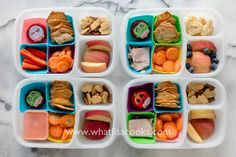 "I like routine, and for me that includes following a meal plan.  For lunch  I just follow a schedule that helps keep me on track.  And according to  that schedule, Tuesday is ""lunchables"" day, or what I loosely define as  just a snack box - crackers and other little things to nibble one"